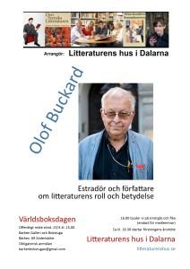Olof Buckard till Världsboksdagen