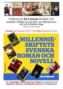 Millennieskiftets svenska 18 jan Affisch